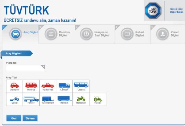 Araç Muayene Randevusu Trafik Sigortası Sigortamnet